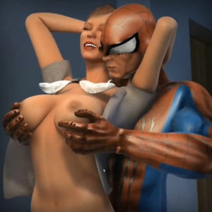 Spidey and Mary Jane